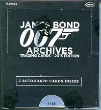 James Bond 007 Archives 2015 Edition Trading Card Box MINT