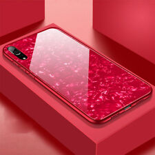 Glossy Tempered Glass Case for Huawei P20 Pro/Lite Shockproof Bumper Back Covers
