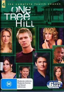 ONE TREE HILL - S4. All 22 S4 Eps on 6 x R4 DVDs