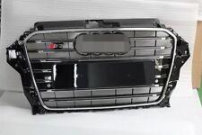 Calandra o parrilla frontal S3 look black para Audi A3 8V 2012+ sedan sportback