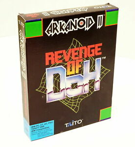 """Taito ARKANOID II Revenge of Doh IBM-PC XT AT Tandy 1000 1989 Video Game, 5.25"""""""