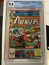 Avengers Annual 10 CGC 9.6 NM+ 1st Appearance Rogue X-Men Cameo Key issue
