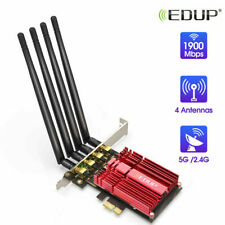 EDUP Dual Band AC1900Mbps PCI-E Wifi Card Wireless Network Adapter for Gaming
