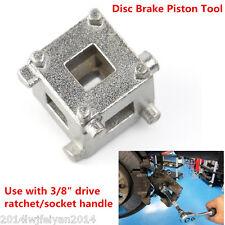 "Rear Disc Brake Piston Caliper Cube 3/8"" Drive Tool Calliper Wind Back Adaptor"