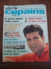 SALUT LES COPAINS n°11- Juin 1963- Cloclo- Elvis- Eddie Cochran