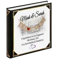 Personalised large photo album, guestbook, Engagement Wedding present