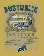 GR L  T Shirt Old Style Australia Australien Outback 1907 Ayers Rock Sydney