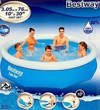 Bestway Swimming POOL 305 x 76 cm Family Kinderpool PLANSCHBECKEN Badespaß