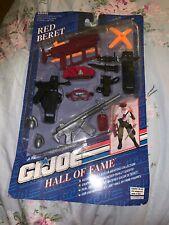 1993 Hasbro Gi Joe Hall of Fame Red Beret Weapons Arsenal 27531 -