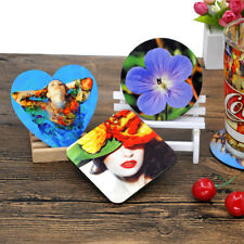 10pcs Sublimation blank diy customize table placemat coaster square drink pads