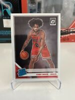 Coby White Rated Rookie 2019-20 Donruss Optic #180