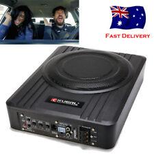 10 inch Slim Car Subwoofer 600W Active Audio bass Speaker Amplifier Sub Woofer