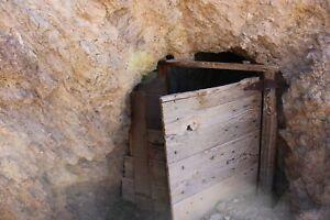Nevada Gold Silver Mine Historic Fitting Mining Claim Adit Shaft Huge Tailings