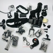 Lot of GoPro - protective cover, various accessories: Straps, tripod, mounts D3
