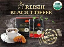 Certified Organic Black Coffee with Reishi Mushroom (Ganoderma Lucidum) 1 BOX!