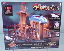 Thundercats Bandai Cartoon TOWER OF OMENS Playset w/ Exclusive Tygra MISB L@@K!