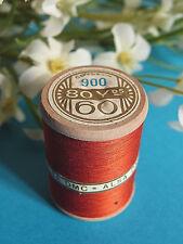 740B/ Splendid Spool Of Thread Alsa For Embroidery No. 60 Red Bismarck No. 900