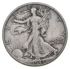 1943-S Walking Liberty 90% Silver US Half Dollar *105