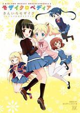 "Kin-iro Mosaic TV Anime Official Guide Book ""Mosaiclopedia"" Japan Anime Comic"