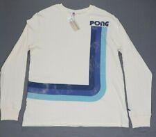 JunkFood Atari Pong Long Sleeve Shirt Size Large