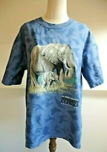 Aussie Themes Endangered species Save the Elephant Tshirt Vintage Sz M Australia