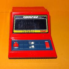 VINTAGE 1982 Grandstand 11196 Uomo delle Caverne ELETTRONICO MINI ARCADE GAME VERSIONE ROSSA