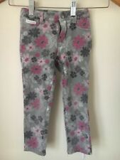 Trousers Calvin Klein Age 5 Grey Floral Adjustable Waist <T15240
