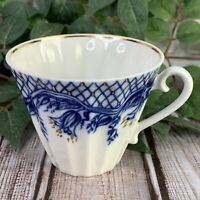 Lomonosov Blue Rhapsody Tea Cup ONLY Replacement Fine Porcelain Made In Russia