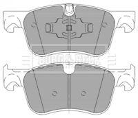 Borg & Beck Disc Brake Pad Set Pads BBP2463 - GENUINE - 5 YEAR WARRANTY