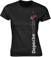 DEPECHE MODE Violator Side Rose WOMENS GIRLIE T-SHIRT OFFICIAL MERCHANDISE