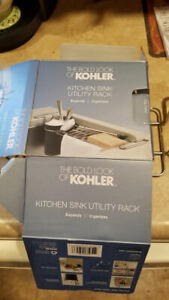 Kohler Kitchen Sink Utility * Rack