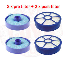 2sets HEPA Motor Pre and Post Filter for Dyson DC33 Multi Floor Vacuums Washable