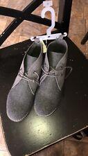 Old Navy boy's grey desert ankle boot