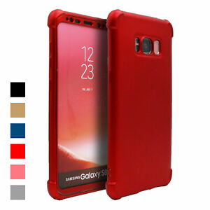 Hybrid 360 Case For Samsung Galaxy S9 S8 Plus S7 edge Thin Shockproof Full Cover