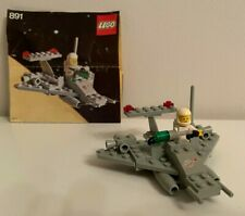 Vintage Lego 891 Space Shuttle Two-Man Scooter Set (1979), Complete
