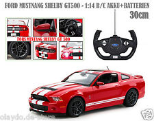 RC 1:14 Ford Mustang Shelby GT500 30cm in Rot Fernsteuerung Rastar Funk Auto Car