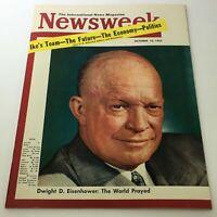 VTG Newsweek Magazine October 10 1955 - Dwight D. Eisenhower / Newsstand
