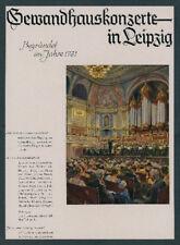 Rudolf Lipus Gewandhausorchester Hermann Abendroth música clásica Leipzig 1940