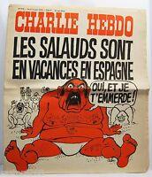 Charlie Hebdo 7 08 1975 Nr. 247 Cabu Wolinski Reiser Urlaub Der Bastarde Spanien
