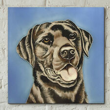 Labrador 8x8 Decorative Ceramic Picture Art Tile Dog Pet Wall Gifts NEW 05767