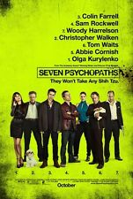 SEVEN PSYCHOPATHS - 27x40 D/S Original Movie Poster One Sheet Colin Farrell 2012