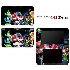 Vinyl Skin Decal Cover for Nintendo 3DS XL LL - Super Mario Luigi's Mansion