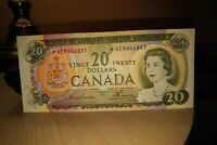 1969 Replacement $20 Dollar Bank of Canada Banknote *WE9446897 F-VF