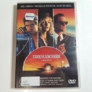 Tequila Sunrise | DVD Movie | Mel Gibson, Michelle Pfeiffer, Kurt Russell | 1988