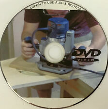 LEARN TO USE A JIG & ROUTER CUT KITCHEN WORKTOPS DVD WITH FREE 1st CLASS P+P 055