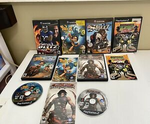 PS2 & Nintendo GameCube replacement case and manuals some games included