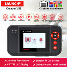 Launch VIII OBD2 Scanner Car Diagnostic Tool Code Reader 4 Syestems EPB SAS SRS