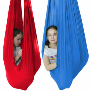 Blue/Red/Green Sensory Swing Chair Hanging Seat Therapy Therapy House Cuddle