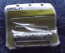 1990s VINTAGE SILVER METAL 7 cm CUMMERBUND BELT, BIRCH BRAND, WAIST CLASP, AUST