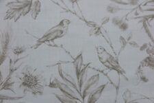 Ralph Lauren cortina tela diseño Belleville Toile 2.6 metros trigo Mezcla De Lino
